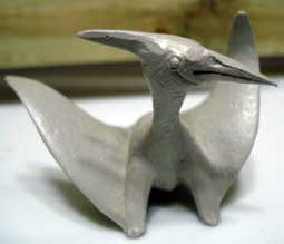 Toy Pteranodon, ca. 1962, from the Marx Company.