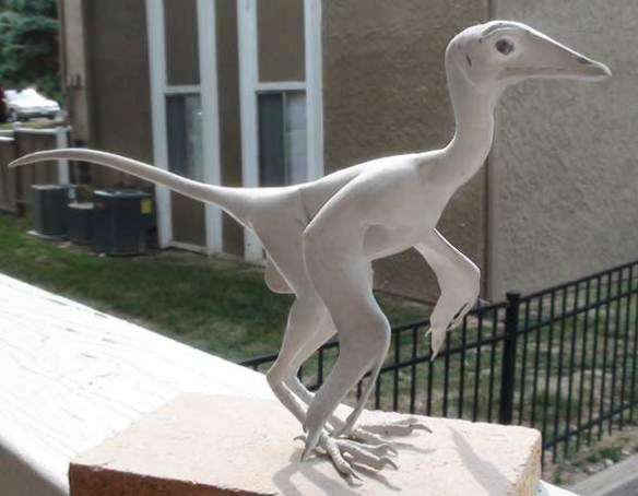 Archaeopteryx sans feathers by David Peters
