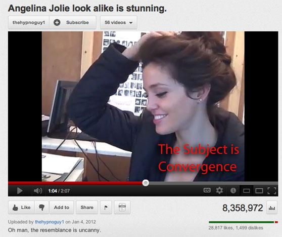 Angelina lookalike