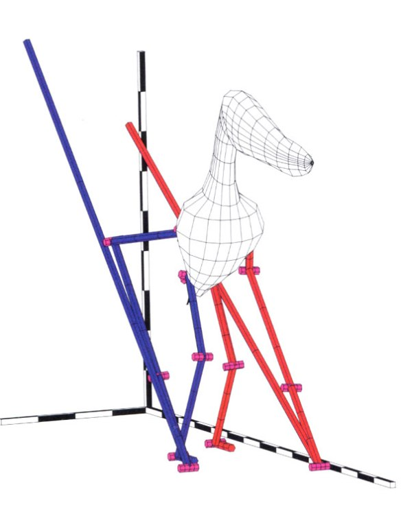 """Robodactylus. This is supposed to represent Anhanguera. After tilting the backbone up, """"Suddenly it all fell into place,"""" according to Unwin."""
