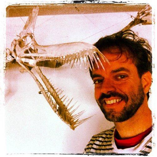 Helder da Rocha, sculptor of the Imaginary Pterosaur  and its blog.