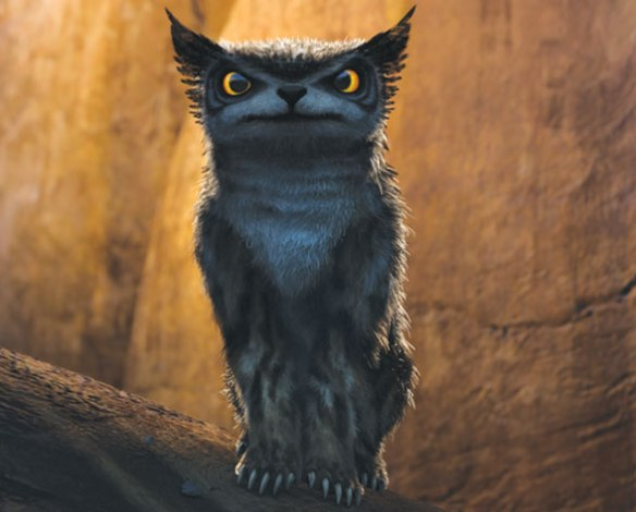Bearowl from The Croods by Dreamworks Entertainment.