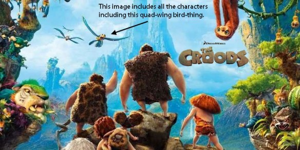 The Croods from Dreamworks Entertainment.