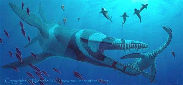 Kronosaurus by Robert Nicholls.