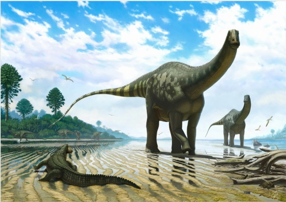 Figure 1 Demandasaurus and company by Andrey Atuchin. Click to go to his website.