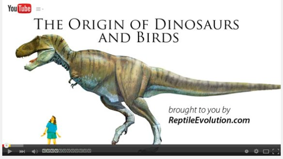 Click to view Origin of Dinosaurs and Birds video.