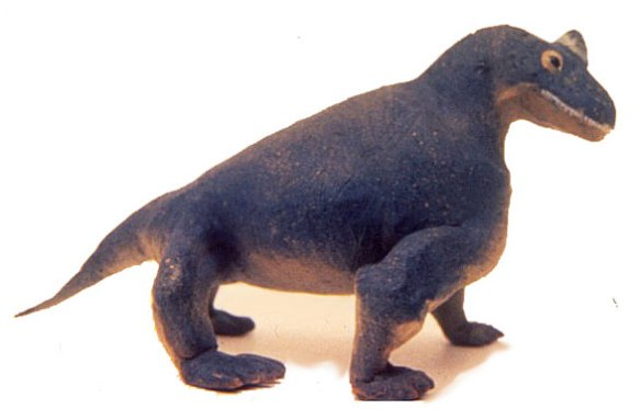 Figure 5. Tapinocephalus scale model.