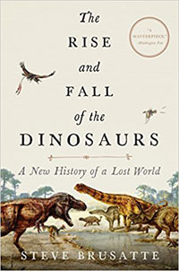 Figure 2. Rise and fall of the dinosaurs by Brusatte 2018.